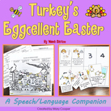 Turkey's Eggcellent Easter: Speech Language Book Companion