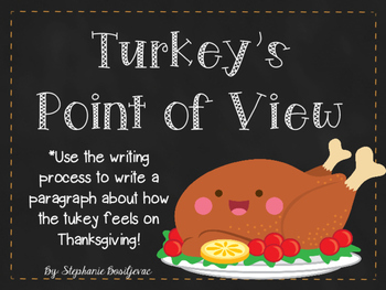 Turkey's Point of View (Thanksgiving Writing)