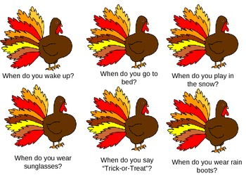 Turkey wh questions