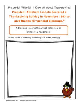 Thanksgiving Word Work Bundle