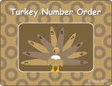 Turkey/Thanksgiving Number Order Craft