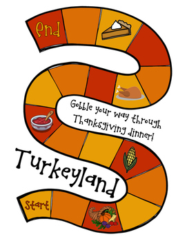 Turkeyland: A Thanksgiving Math Game