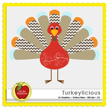 Turkeylicious {Graphics for Commercial Use}
