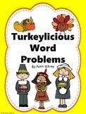 Turkeylicious Word Problems