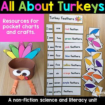 Turkeys - Turkeys Literacy Unit