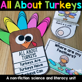 Turkeys - Turkeys Literacy Unit