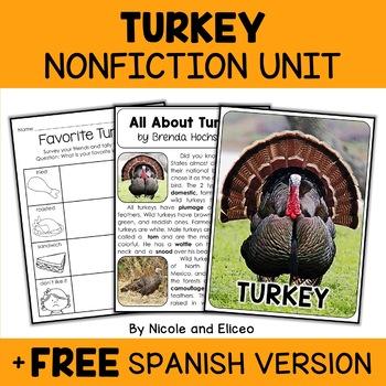 Nonfiction Unit - Turkey Activities