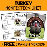 Nonfiction Unit - Turkey Activities