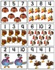 Turkeys Clip Cards | Numbers 1-10