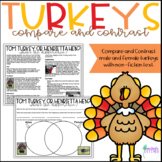 Turkeys - Compare and Contrast with Non-Fiction text