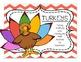 Turkeys: Craftivity + Literacy and Math Activities