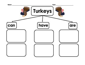 Turkeys Information Writing