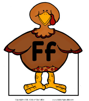 Turkeys Match-Ups Bundle