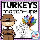 Turkeys Match-Ups {Growing} Bundle