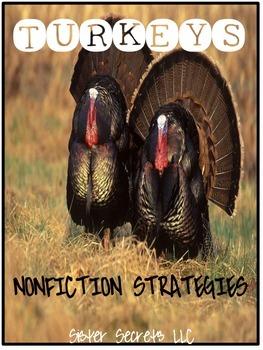 Turkeys: Nonfiction Strategy Pack