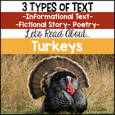 AA Turkeys {Informational Text, Story and Poem}