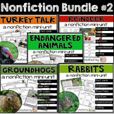 Turkeys, Reindeer, Groundhogs, Endangered, Rabbits - Nonfi