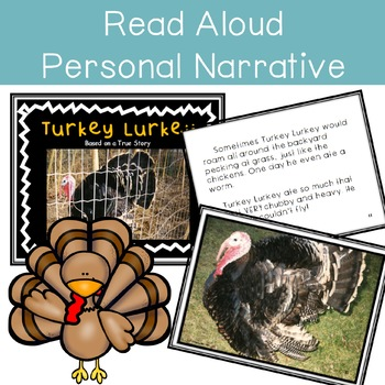 Turkeys ~ Science, Reading, Writing, Craft Unit (Body Parts and Functions)