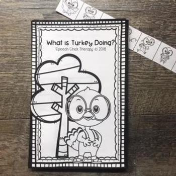 Turkeys and Verbs: An Interactive Set for Speech Therapy