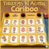 Cariboo Turkeys in Action {for WH- questions & language therapy}