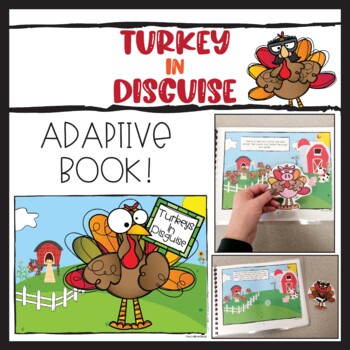 Turkeys in Disguise Adapted Book