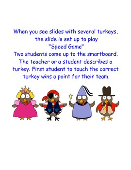 Turkeys in Disguise -- English Professions