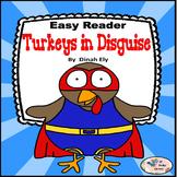 Turkeys in Disguise Mini Book