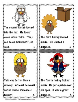Turkeys in Disguise Mini Book