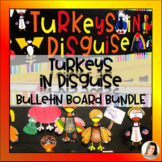 Turkeys in Disguise Project - Letter, Templates, BONUS Bulletin Board Letters