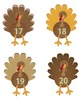 Turkeys on Parade!  Number Order Freebie