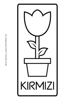 Turkish Colors Flower Printables (High Resolution)