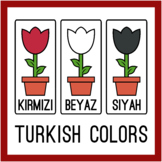 Turkish Flower Color Printables (High Resolution)