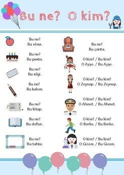 Turkish Handouts