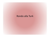Turkish Rondo:  Listening and Rhythm Reading Lesson Plans