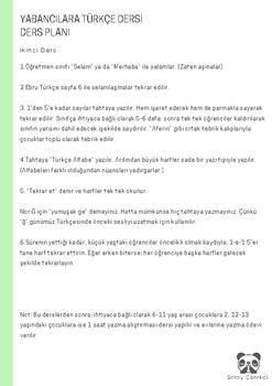 Turkish Teacher Guide