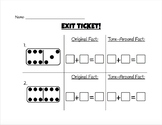 Turn-Around Addition Exit Tickets