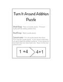 Turn Around Addition Puzzle
