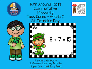 Turn Around Facts Commutative Property St. Patrick's Day T
