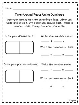 Turn-Around Facts Lesson