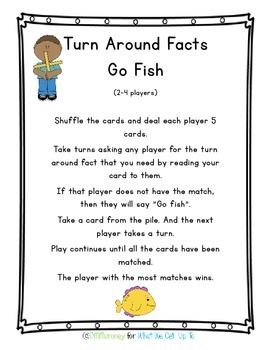 Turn Around Facts Resource Pack
