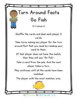 Turn Around Facts Resource Pack