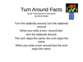 Turn Around Facts Song