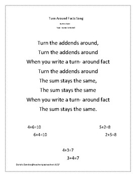 Turn Around Facts with Dominos