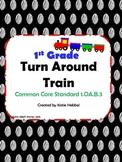 Turn Around Train- Working with the Commutative Property 1.OA.B.3