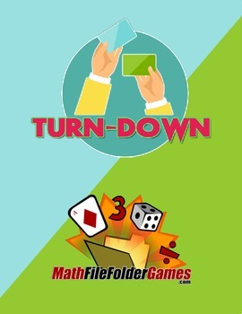 Turn-Down a Factors & Multiples Game {Math Game}
