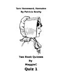 Turn Homeward, Hannalee Quiz packet