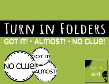 Turn In Folders