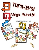 Turn-It's: Mega Bundle {Clothespin Task Cards for Phonics}