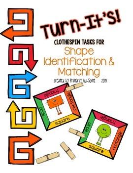 Turn-It's: Shape Identification & Matching
