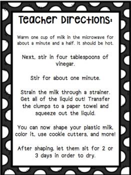 Turn Milk Into Plastic Science Experiment
